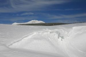 Vu sur le Mont Mézenc enneigé