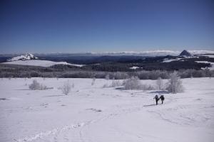 Des panoramas sur les sommets ardéchois