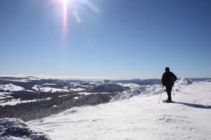 Panorama du sommet du Suc de La Lauzière