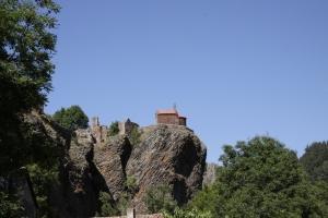 Le château d'Arlempdes © Olivier Mathis
