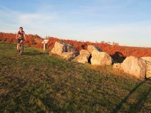 Les pierres Pouquelées © F.Batifol
