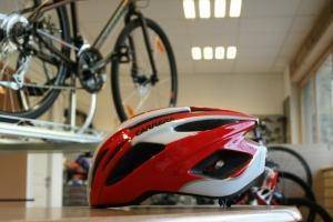 Casque Carrera Vélodrome rouge