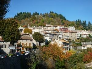 Village de caractère de Chalencon © F.Batifol